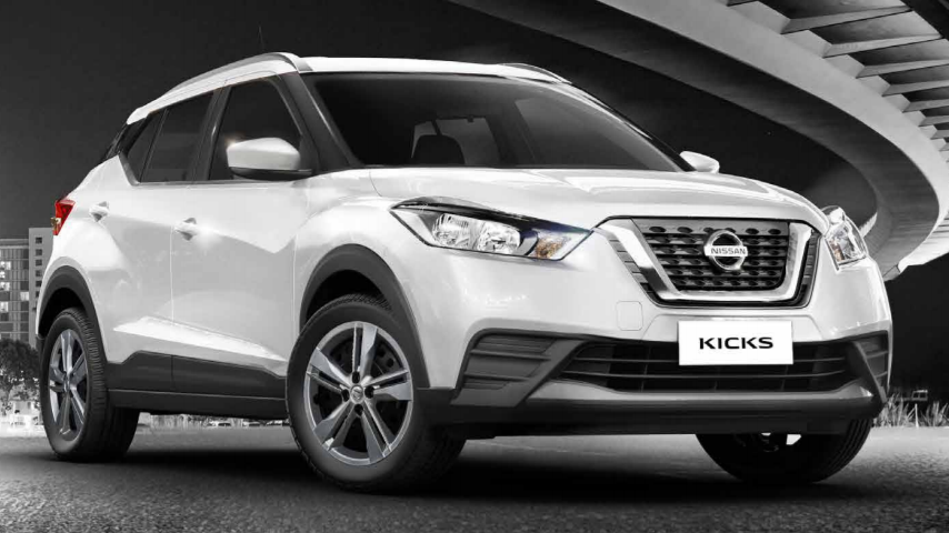 Nissan Kicks terá versão S CVT mais em conta; encomendas já podem ser feitas