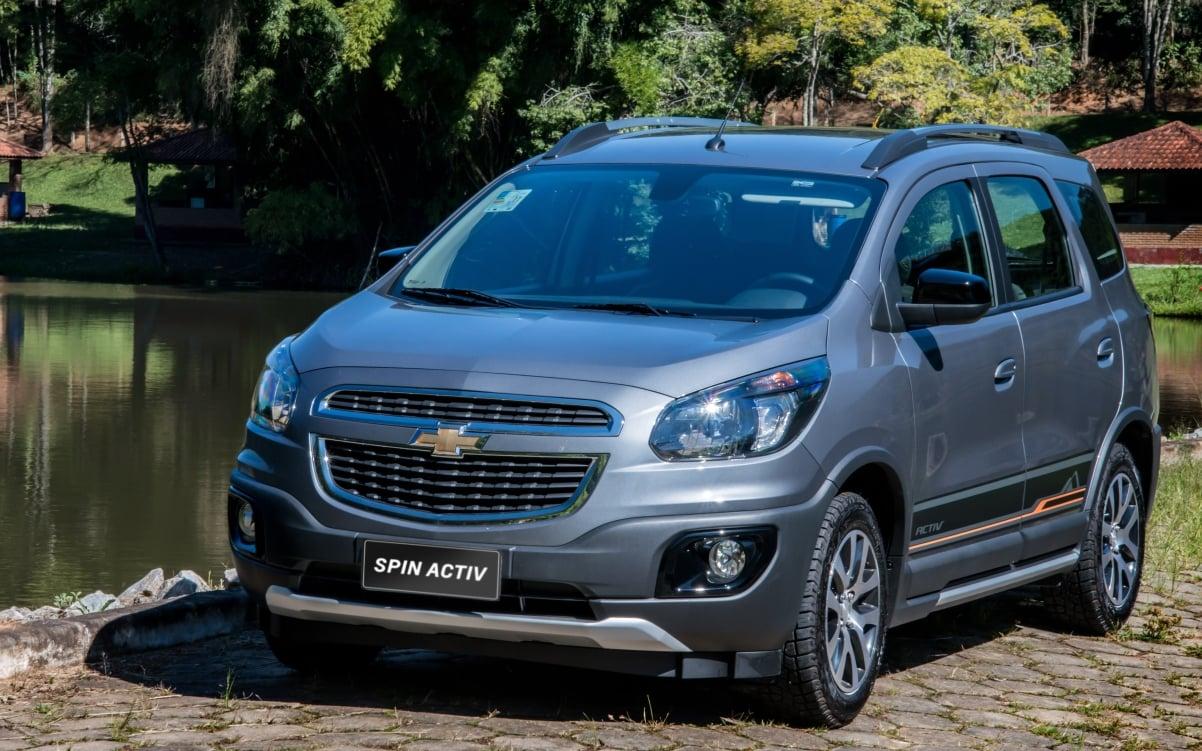 Chevrolet Spin, minivan mais vendida do Brasil, ganha novo MyLink na linha 2018