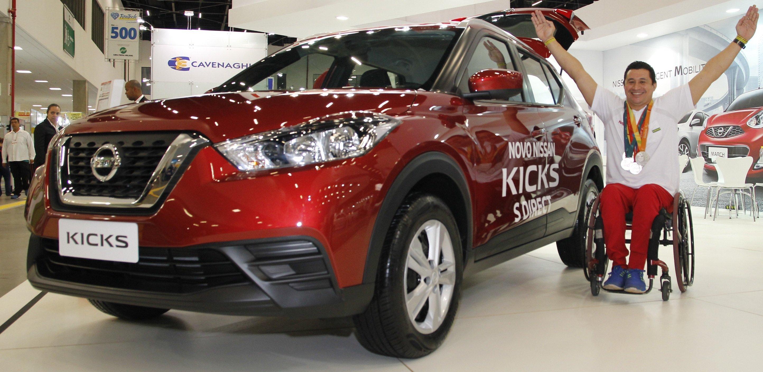 Japan Veículos, líder de vendas para portadores de necessidades especiais, anuncia chegada do Nissan Kicks S CVT 2018