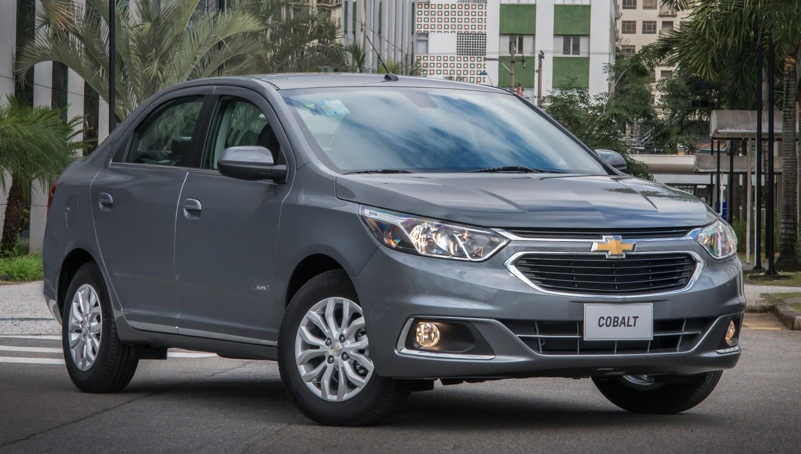 Chevrolet Cobalt 2018 traz novos itens de segurança: fixação ISOFIX para cadeirinhas vem de série