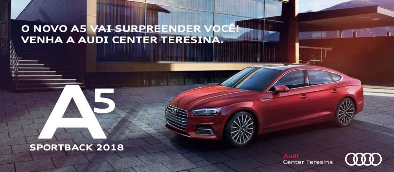 Audi A5 Sportback 2018: nova geração chega repleta de tecnologia ao Brasil