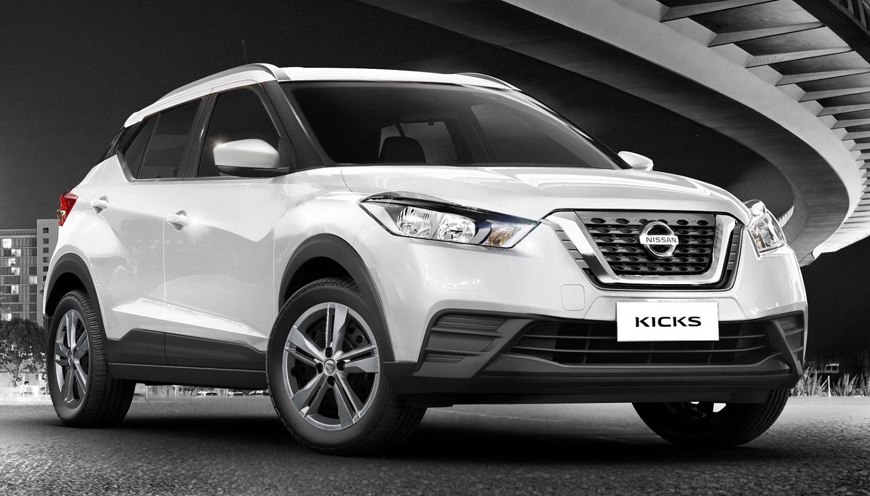 Com ótimo custo-benefício, Nissan Kicks S automático está disponível para faturamento imediato: veja detalhes