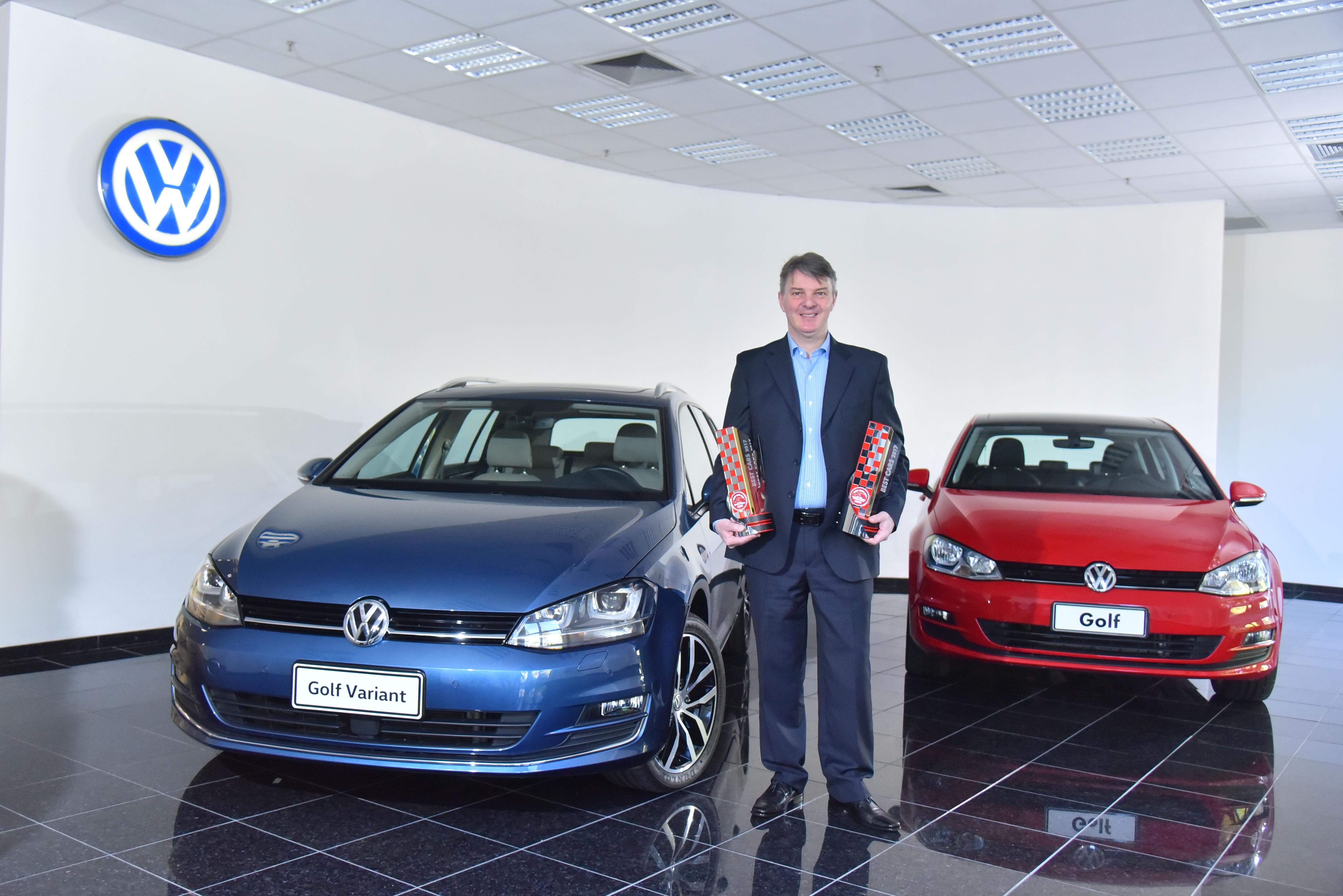 Volkswagen conquista prêmio Best Cars da revista Carro com os modelos Golf e Golf Variant