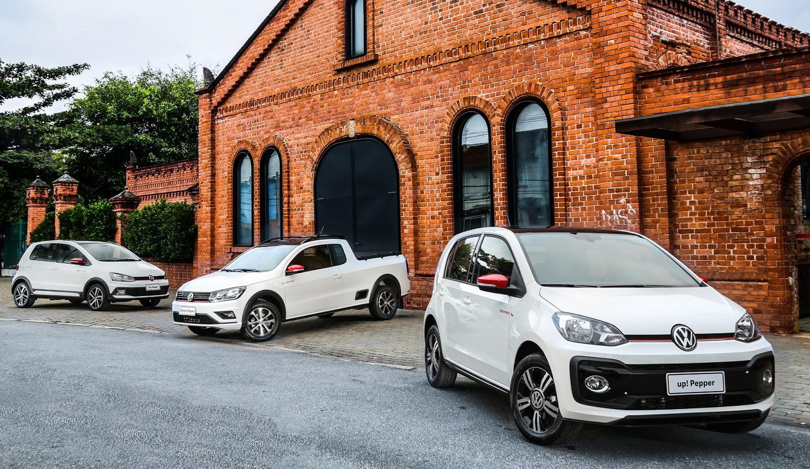 Linha Volkswagen Pepper 2018: up!, Fox e Saveiro ganham esportividade e itens únicos na categoria