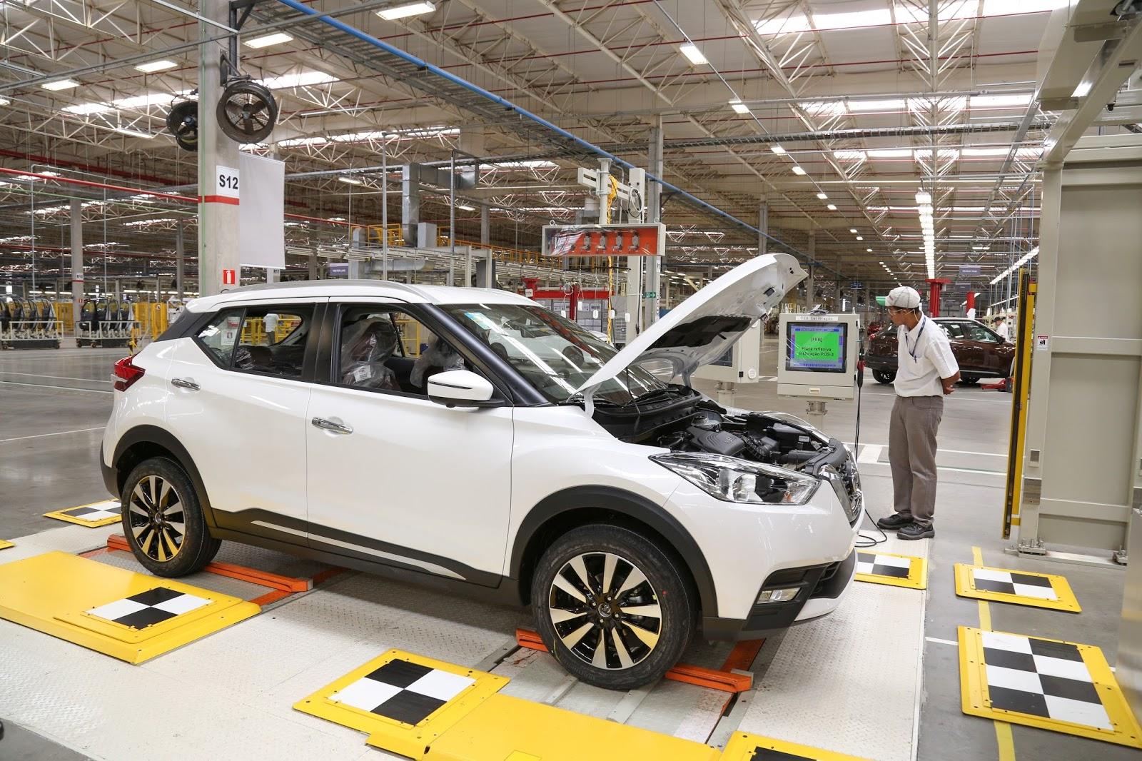 Com sucesso do Kicks, Nissan anuncia operação de sua fábrica no Brasil em mais um turno