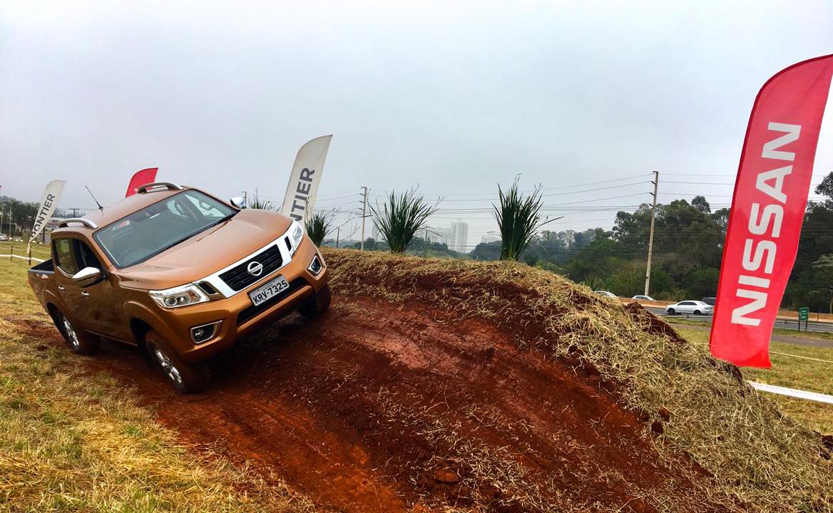 Nissan Frontier Experience: uma nova forma dos consumidores testarem a nova picape