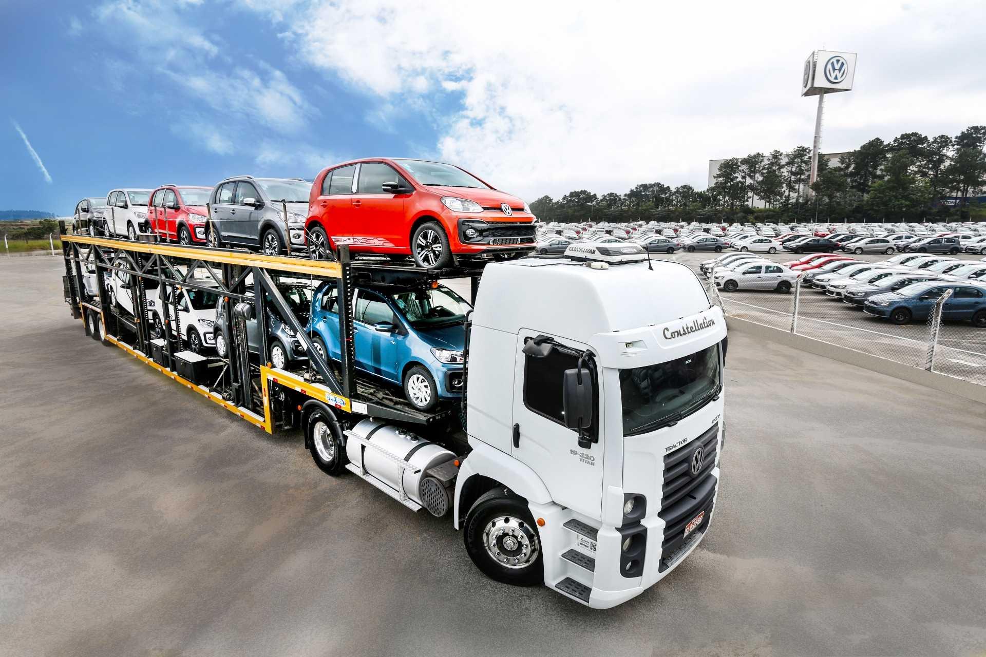 Volkswagen se mantém liderança de exportações de carros, crescendo 52% no 1º semestre de 2017