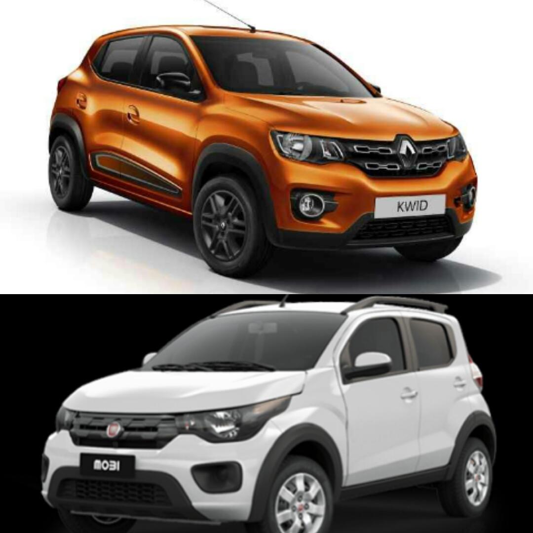 Renault Kwid enfrenta Fiat Mobi: conheça a melhor opção para o dia-a-dia