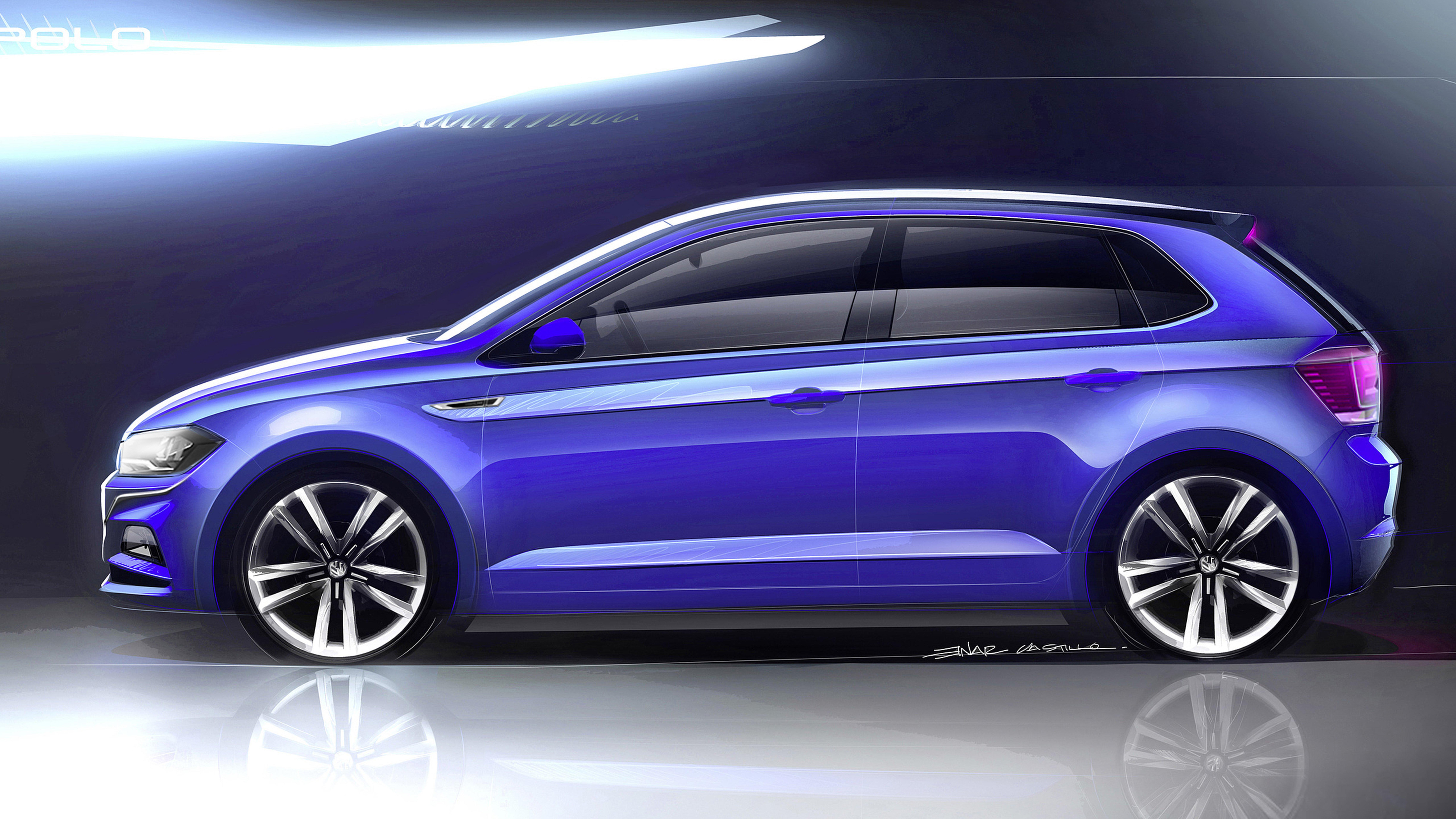 Volkswagen Polo 2018 chega em setembro com muita segurança e tecnologia a bordo