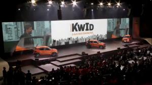 Renault Kwid é lançado em grande estilo no estádio Allianz Arena: confira em vídeo
