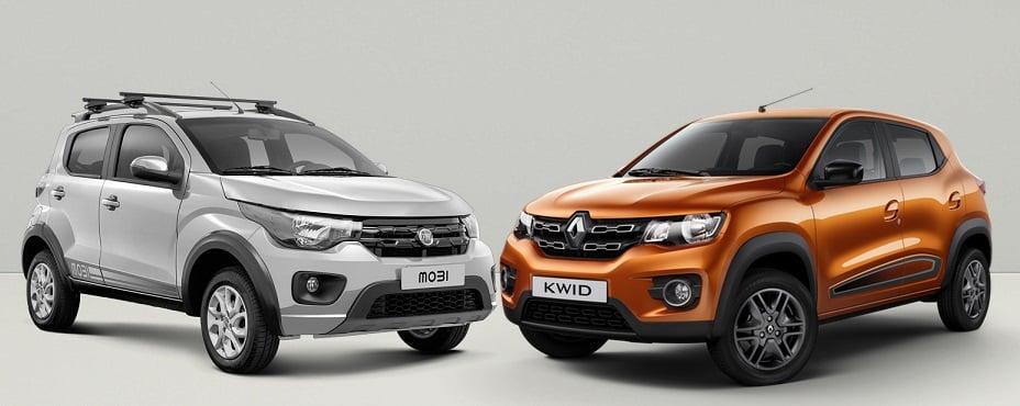 Renault Kwid e Fiat Mobi: entenda por que um é sucesso e o outro fracassou no mercado