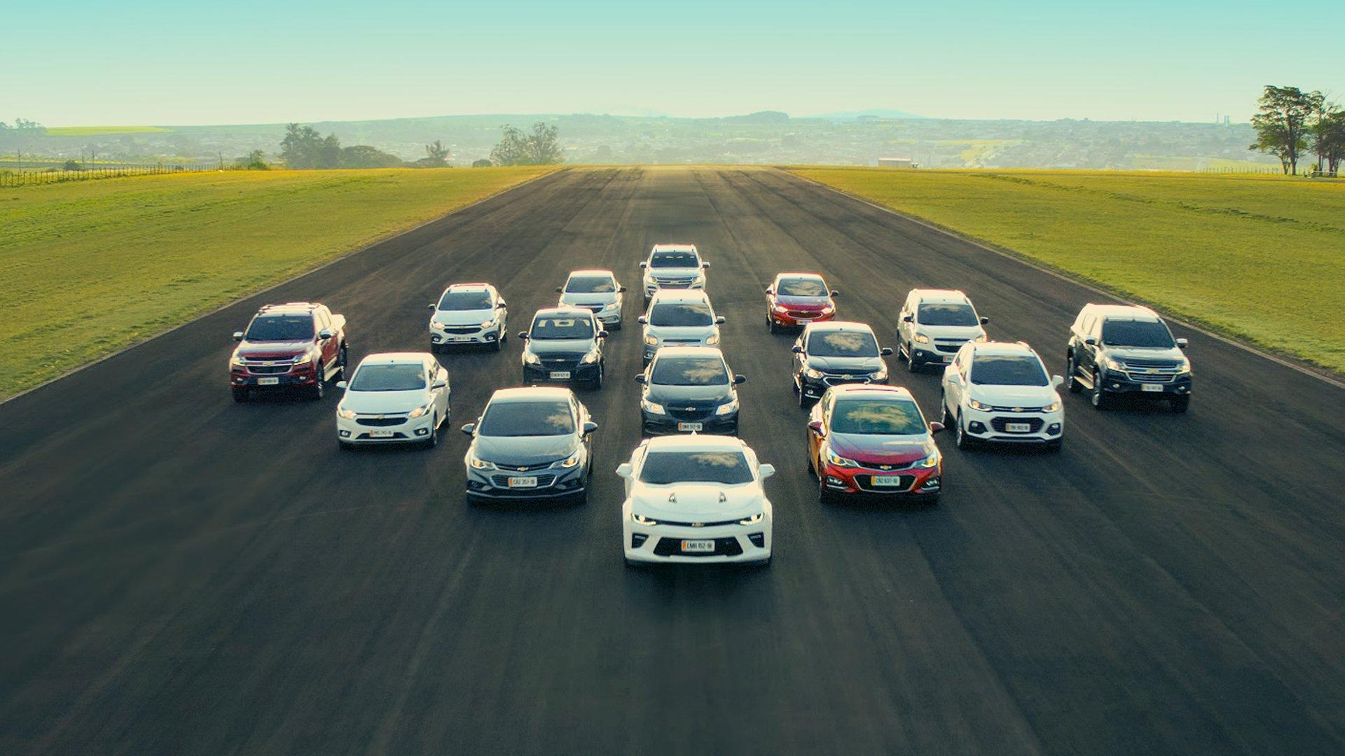 Chevrolet e Canadá Veículos agradecem consumidores por mais um ano de liderança de mercado