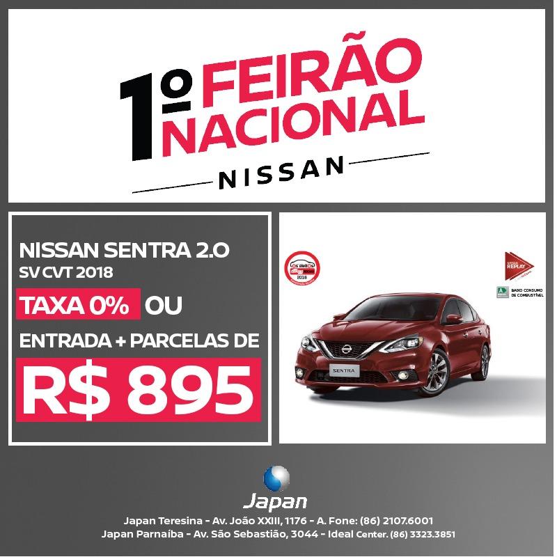 1° Feirão Nacional Nissan: confira as ofertas imperdíveis que a Japan reserva para você!