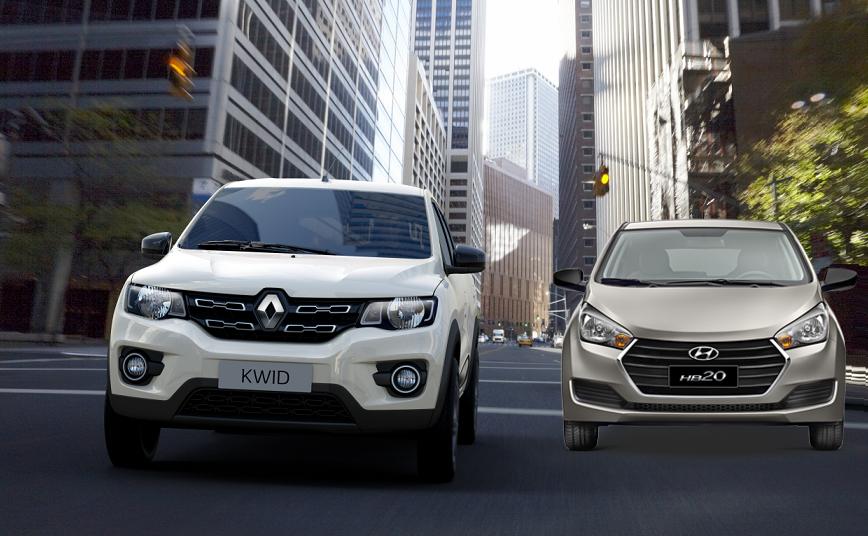 Renault Kwid supera Hyundai HB20 e é o segundo automóvel mais vendido de setembro