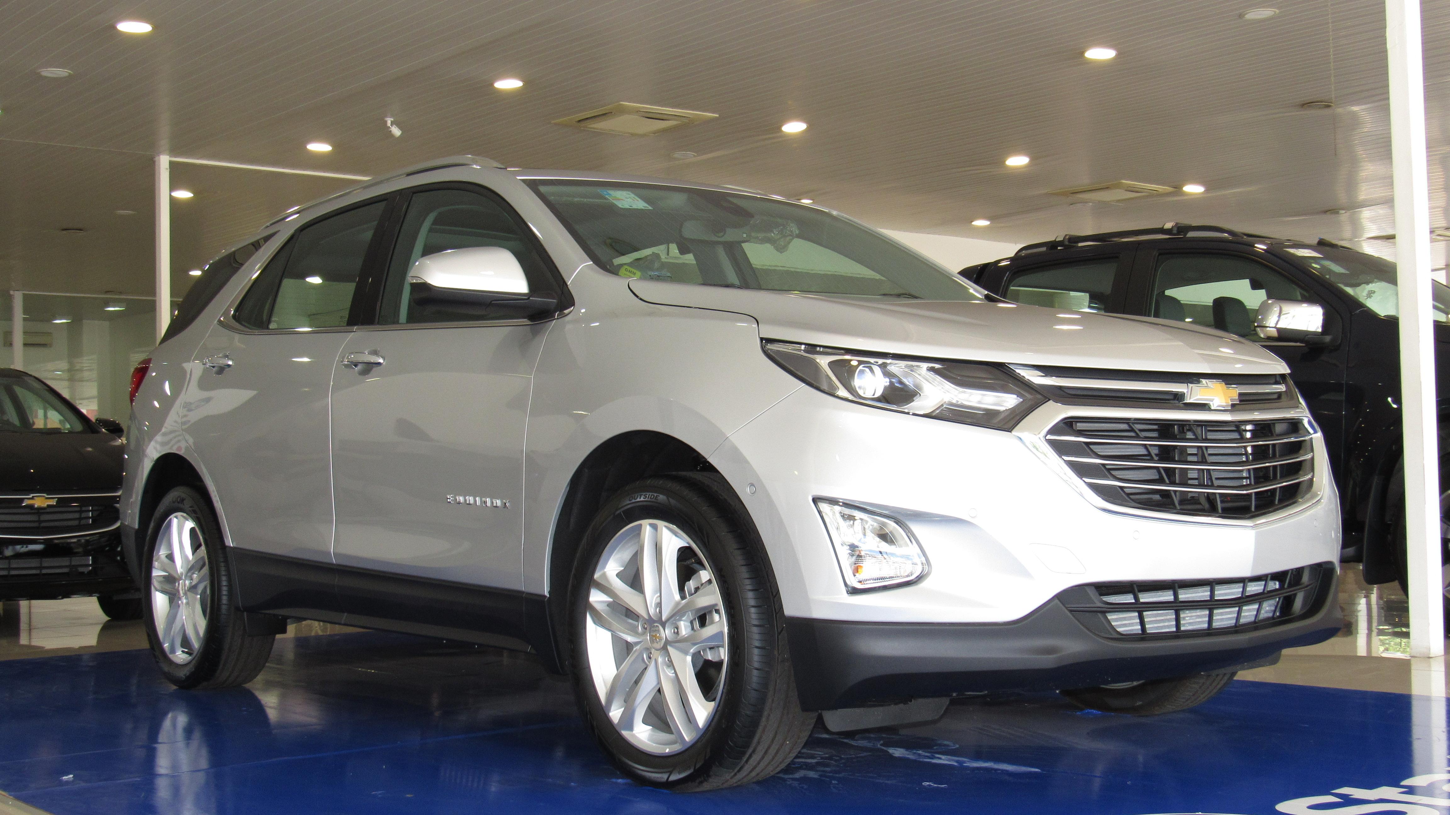 Chevrolet Equinox, SUV mais avançado de sua categoria com 262 cavalos, chega ao Piauí
