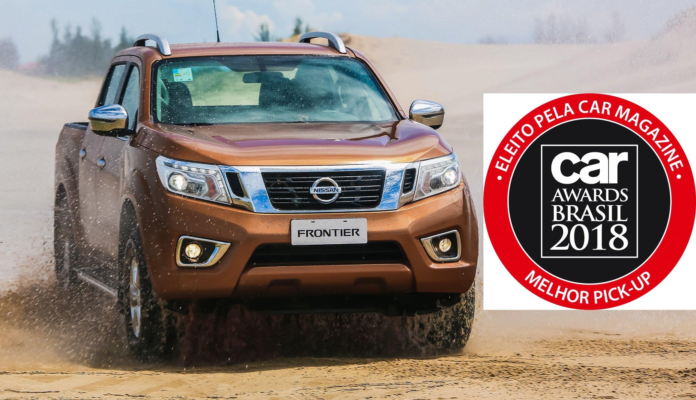 Nova Nissan Frontier é eleita Melhor Pick-Up na votação Car Awards Brasil 2018