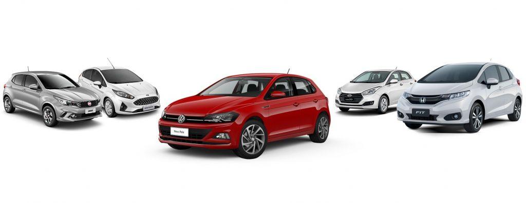 Imprensa compara Volkswagen Polo 2018 a novo Fiesta, Argo e Fit: saiba qual é o melhor carro