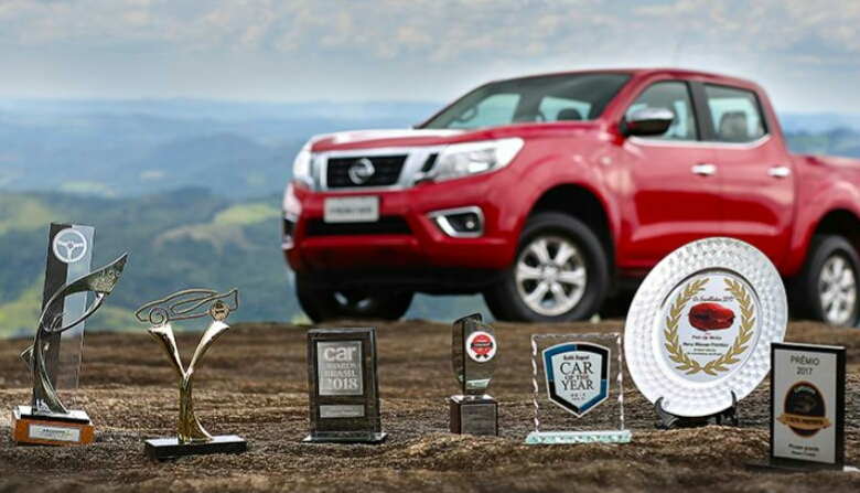 Nova Nissan Frontier conquista sua sétima premiação como a melhor picape de 2017