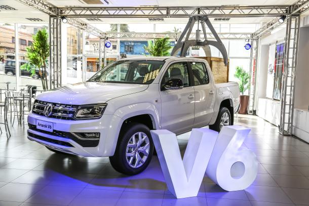 Volkswagen Amarok V6 chega em fevereiro como a picape mais potente e tecnológica do segmento