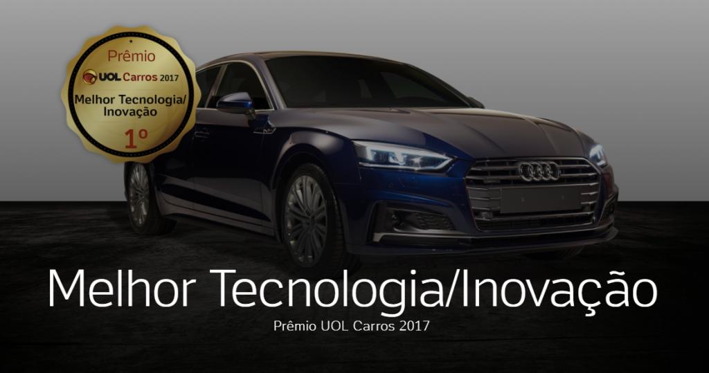 Audi A5 Sportback é eleito o importado com maior tecnologia e inovação em site especializado