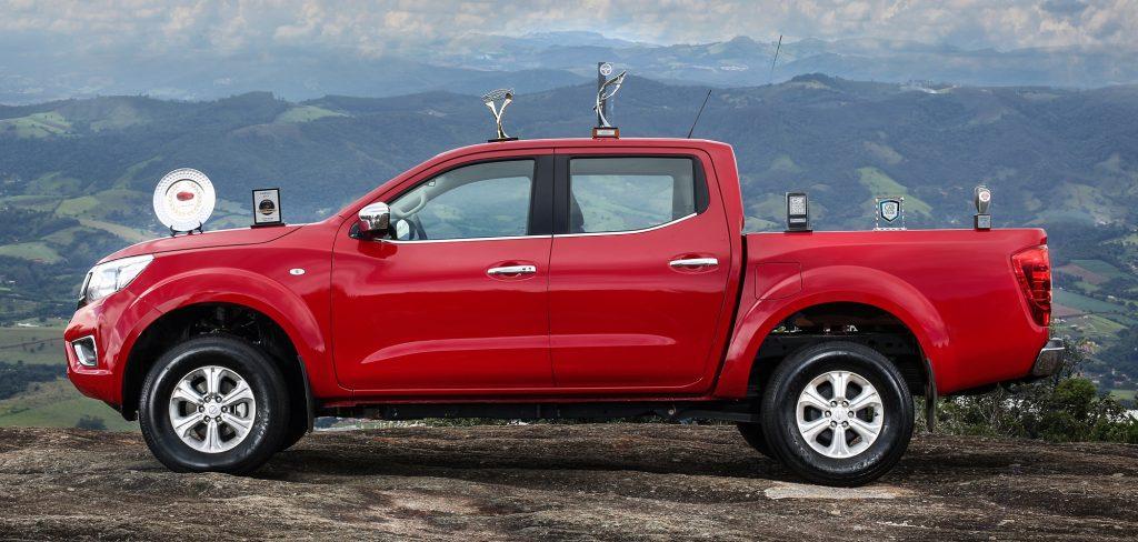 É campeã! Nova Nissan Frontier foi a picape que mais recebeu premiações da imprensa especializada