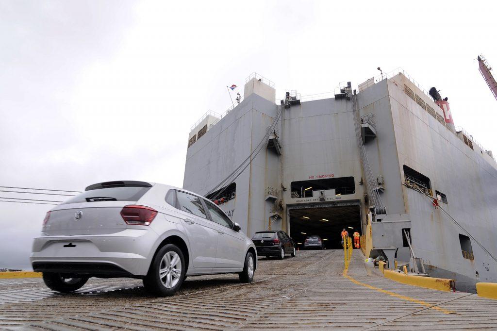 Maior exportadora automotiva brasileira, Volkswagen aumenta em 52,1% a quantia de veículos enviados