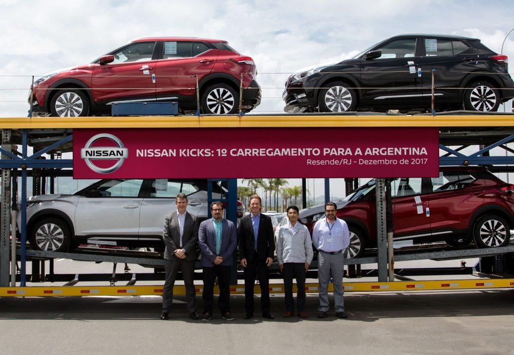 Sucesso em todo o Brasil, Nissan Kicks agora é exportado para a Argentina: veja fotos!