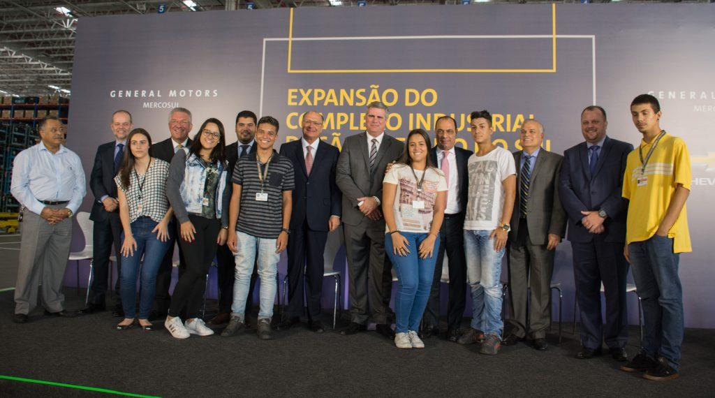 Chevrolet anuncia investimento de R$ 1,2 bilhão para expandir e modernizar fábrica em São Paulo