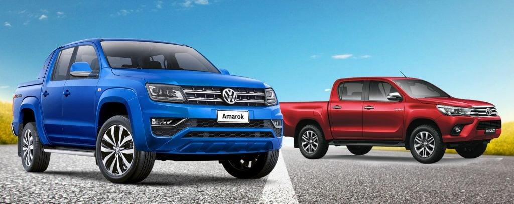 Volkswagen Amarok Extreme X Toyota Hilux SRX: saiba qual opção é o melhor investimento para você