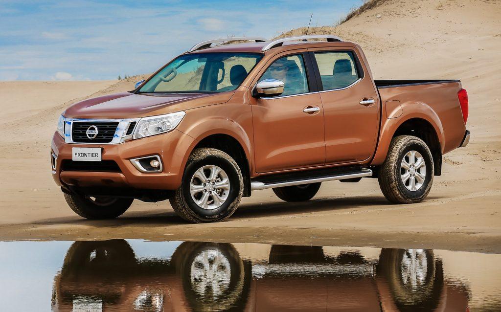 Nova picape Nissan Frontier registra crescimento em vendas em toda a América Latina