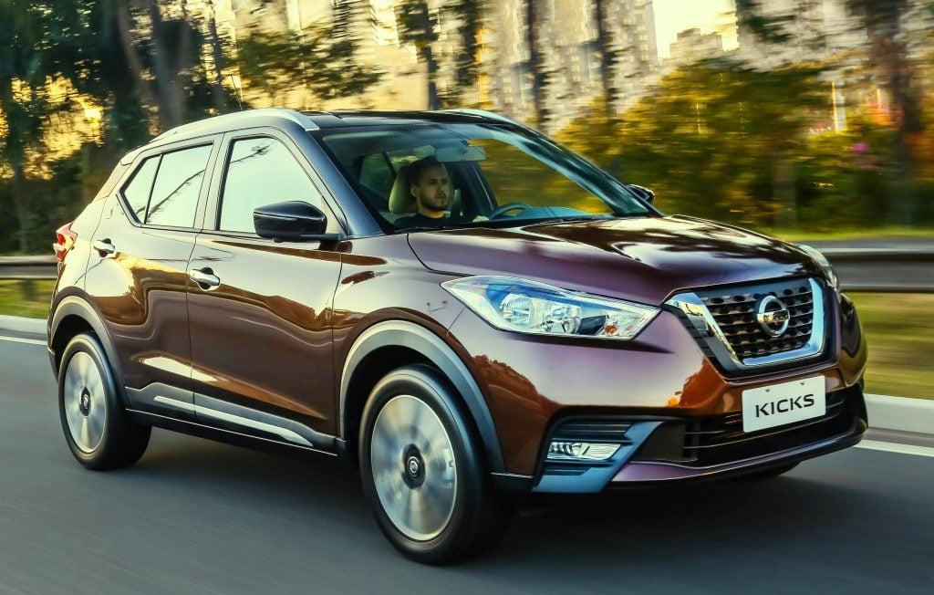 Nissan Kicks supera 20 concorrentes e é classificado como o SUV com menor custo de manutenção