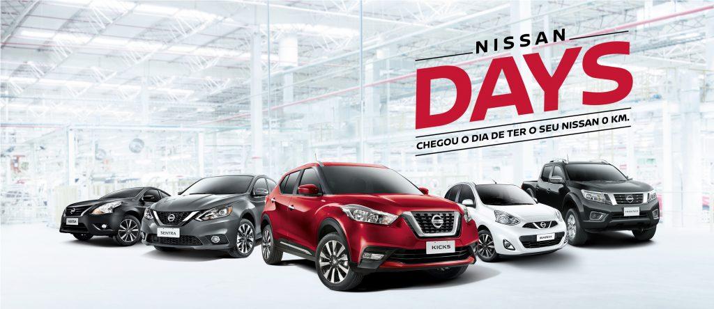 Março é mês de ofertas Nissan Days: só na Japan Veículos, toda a linha com taxa zero!