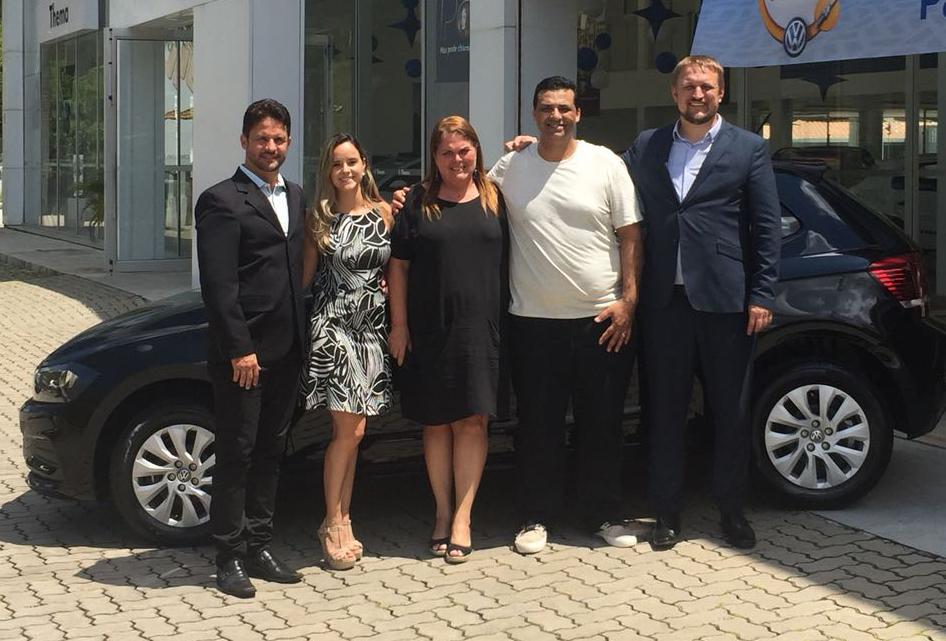 """Volkswagen entrega Novo Polo ao ganhador da promoção """"Oficina de Prêmios"""""""