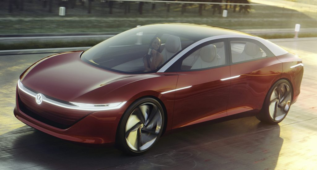 Volkswagen revela em Genebra o autônomo de nível máximo I.D. Vizzion, sem pedais ou volante
