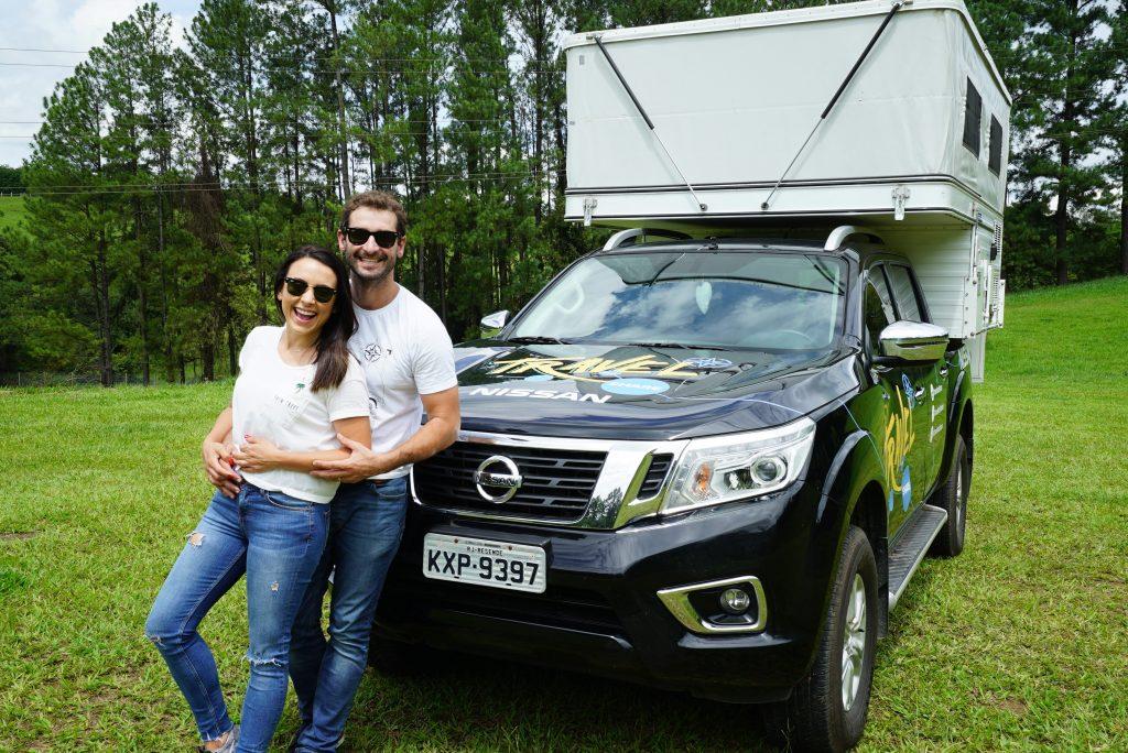 Nissan Frontier será novamente parceira de casal aventureiro em viagem pelo mundo