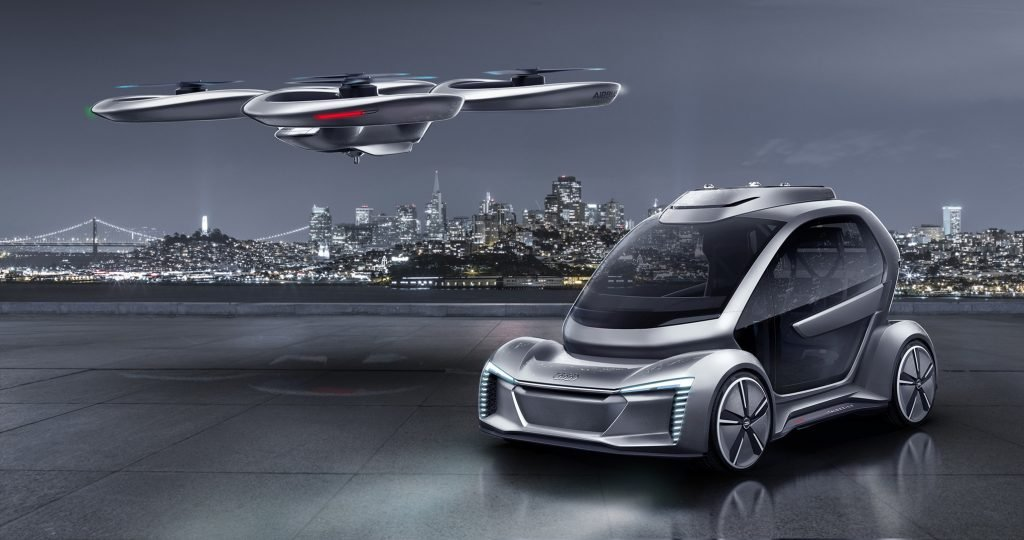 Audi e Airbus formam parceria para oferecer serviços de mobilidade aérea e terrestre