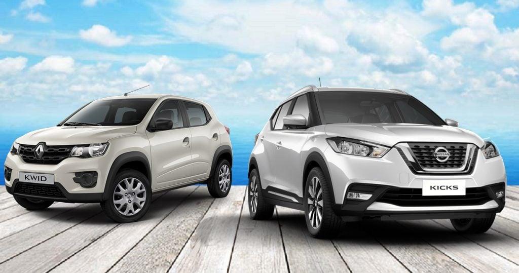 Sucessos consolidados: Renault Kwid e Nissan Kicks atingem recordes de vendas no Brasil em 2018
