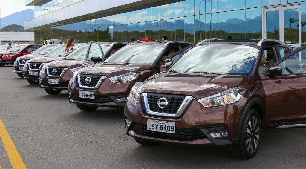 Nissan Kicks bate seu recorde de vendas desde o lançamento