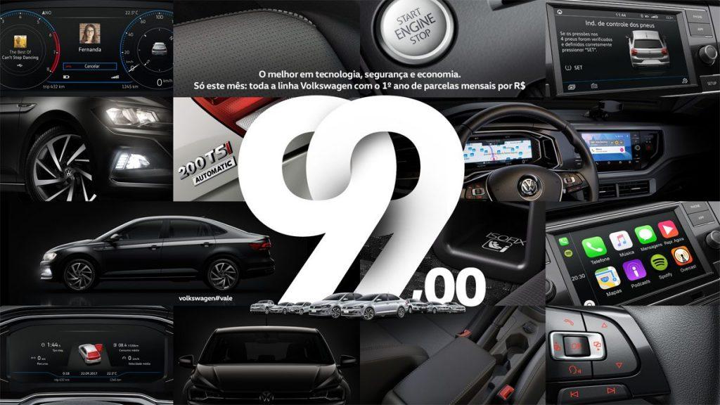 Super Feirão Alemanha Veículos: só esta semana, garanta seu Volkswagen com 1 ano de parcelas de R$ 99!