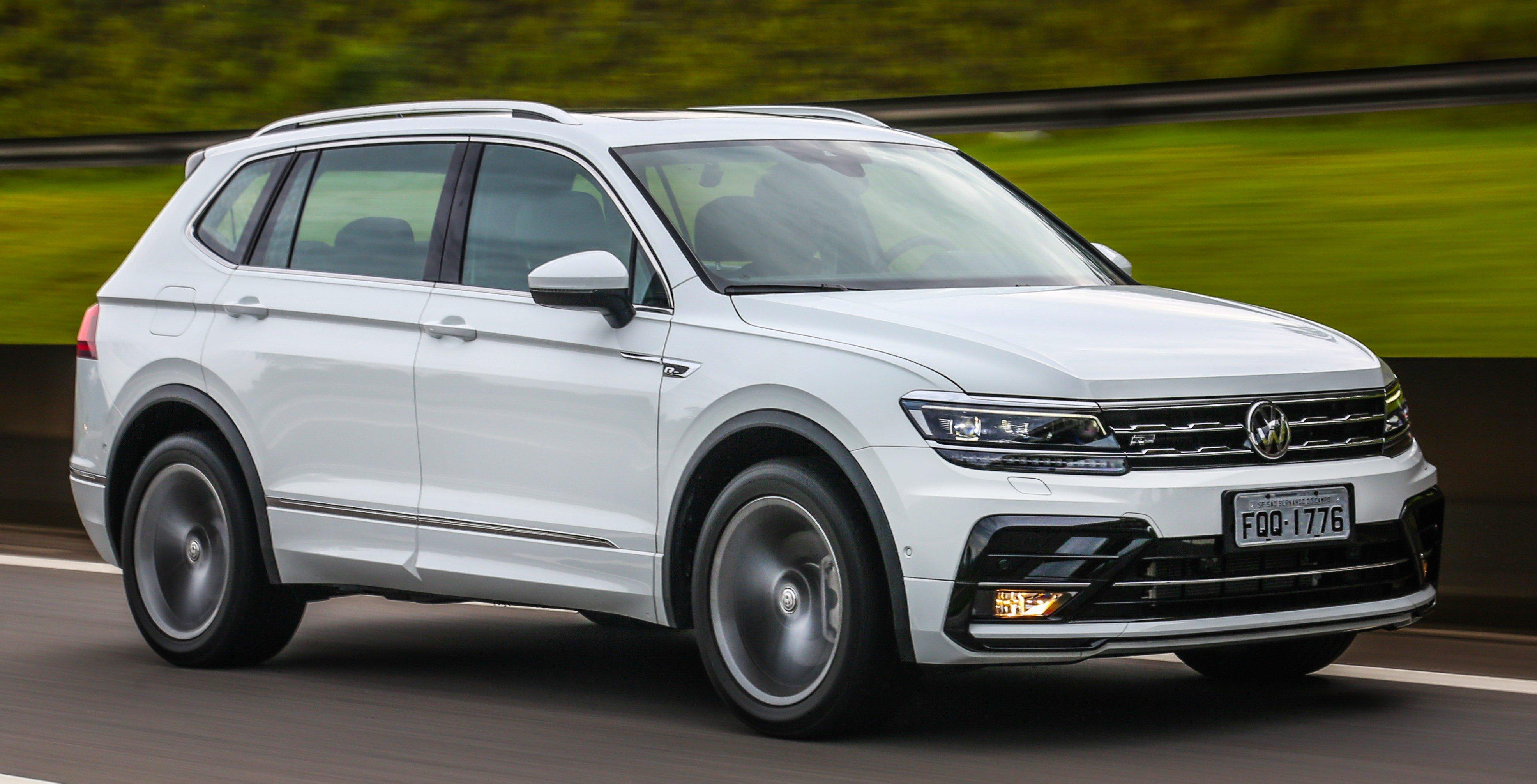 Novo SUV da Volkswagen, Tiguan Allspace tem estreia triunfal e supera rivais em vendas