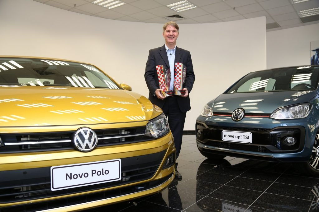 Novidades da Volkswagen, Polo e up! TSI são os campeões do prêmio Best Cars