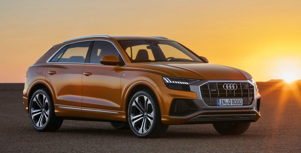 Audi revela Q8, utilitário esportivo com design de cupê e tecnologias revolucionárias