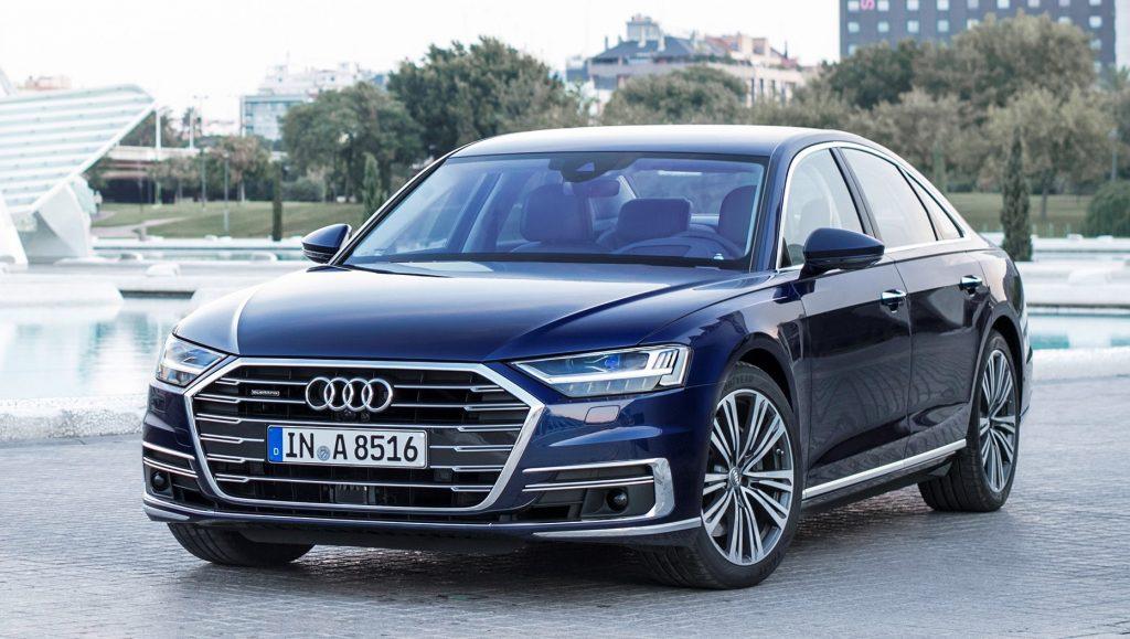 Com auxílio autônomo de direção, Audi A8 é eleito o automóvel mais inovador de 2018