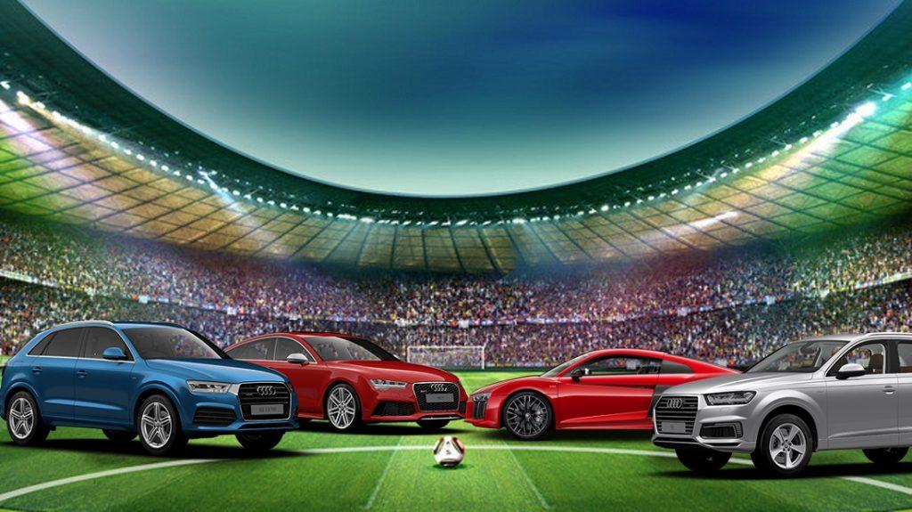 Automóveis da Audi são os preferidos dos jogadores do Brasil na Copa; confira!