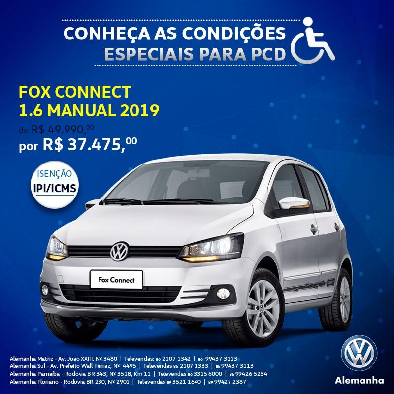 Oferta Alemanha: Confira preço especial do VW Fox 1.6 para pessoas com necessidades especiais!