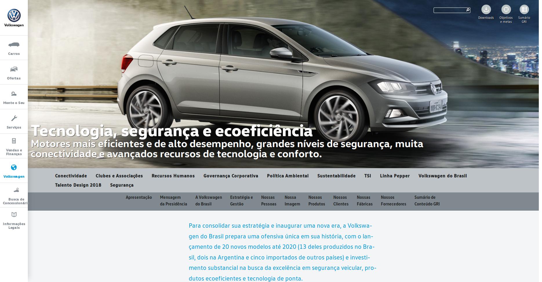 Volkswagen do Brasil lança 6ª edição de seu Anuário de Responsabilidade Corporativa