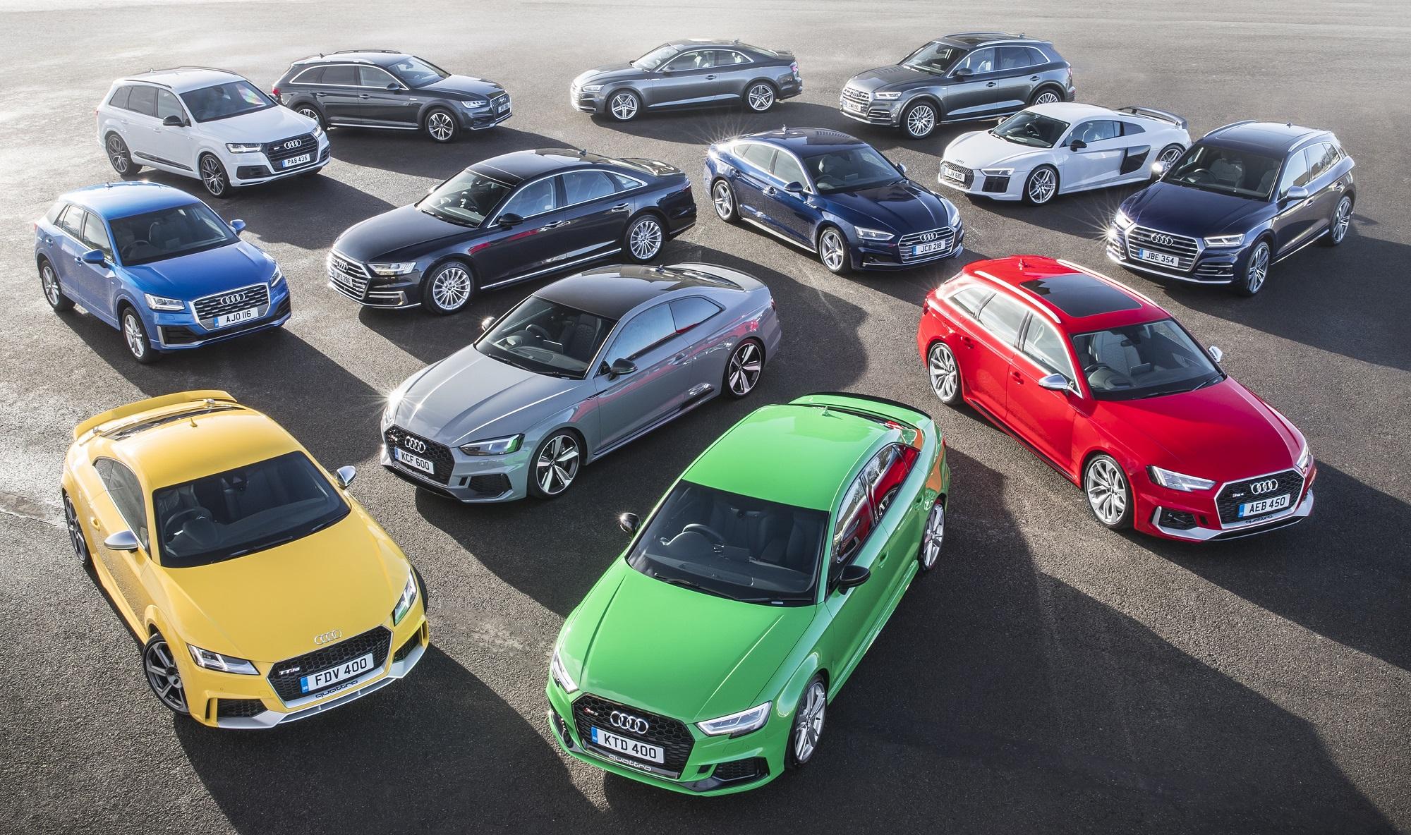 Vendas da Audi crescem 4,5% no primeiro semestre de 2018 em todo o mundo