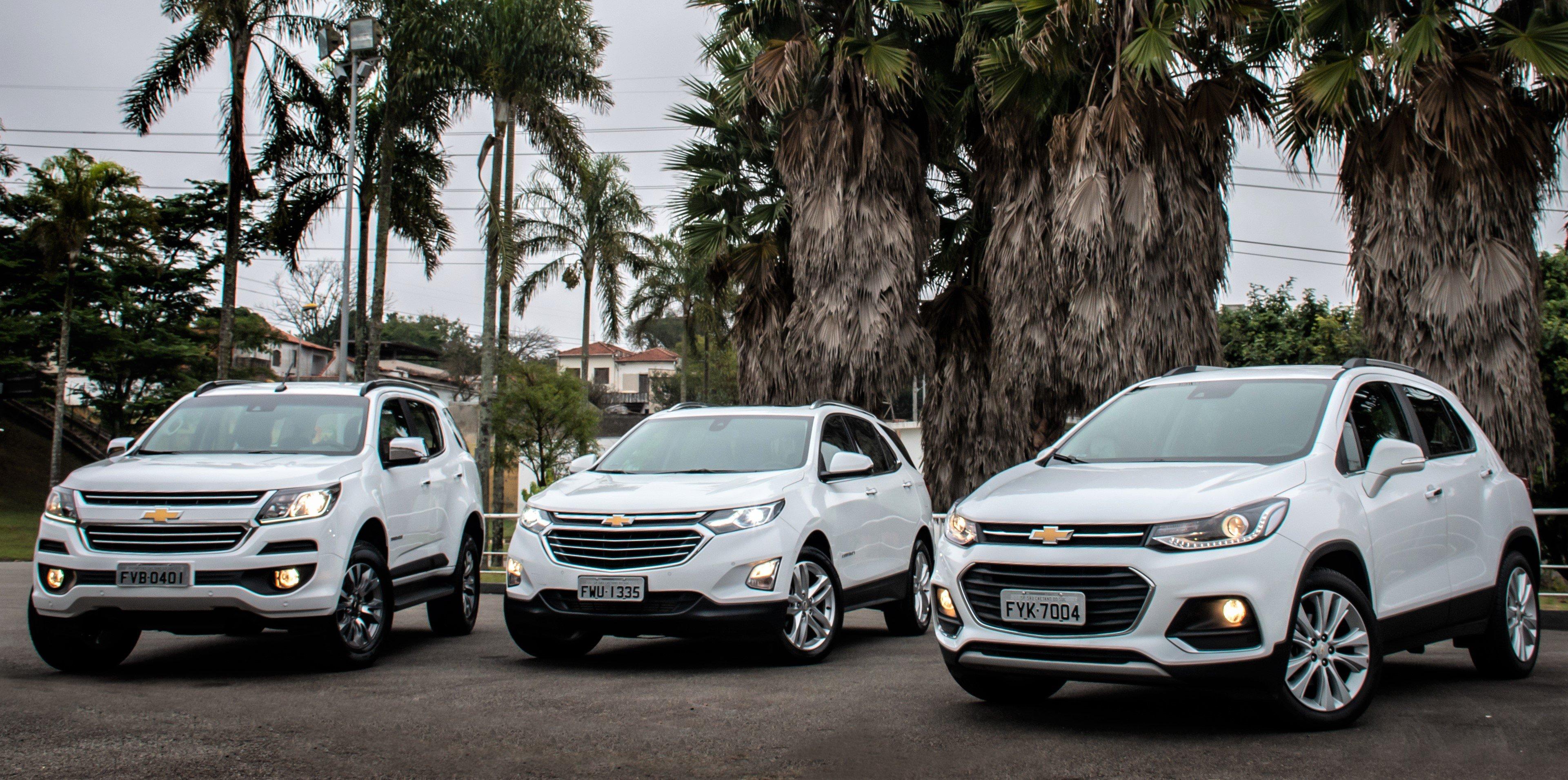 Chevrolet é a marca que mais cresce em vendas de SUVs no Brasil e apresenta Trailblazer 2019