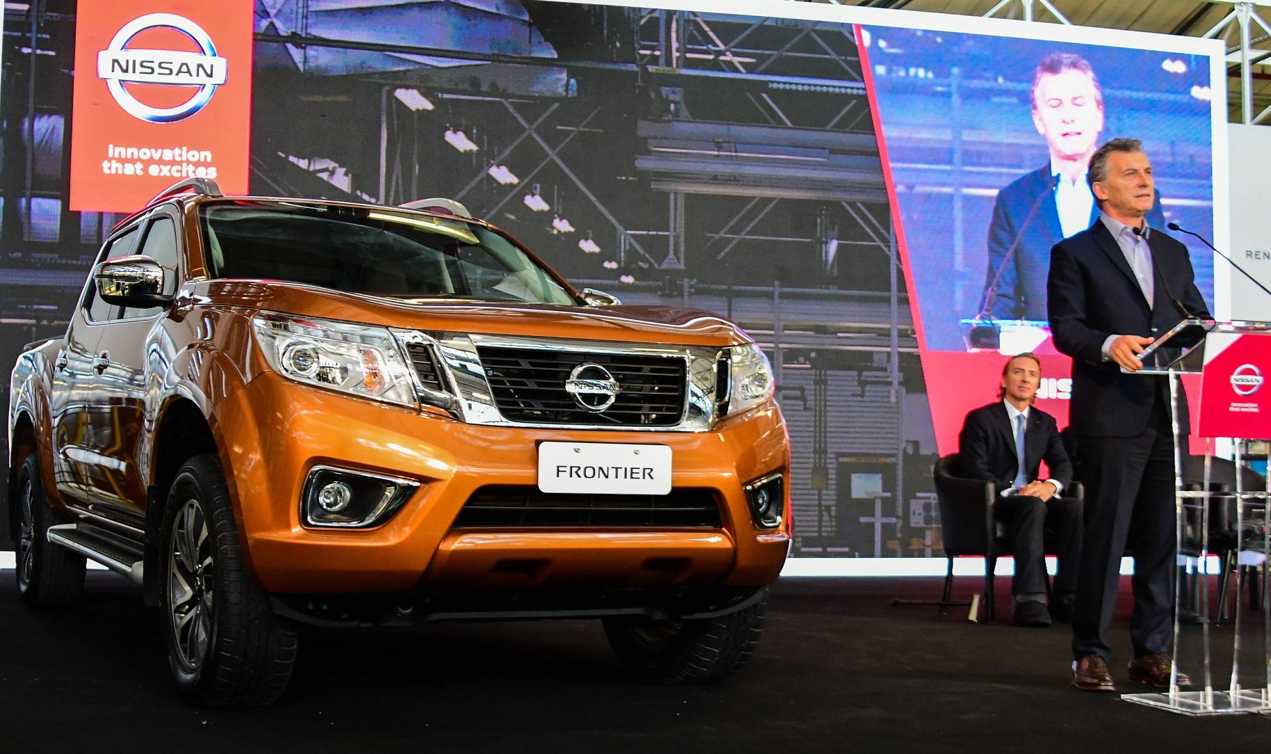 Nissan inicia a produção de sua picape Frontier em Córdoba, na Argentina