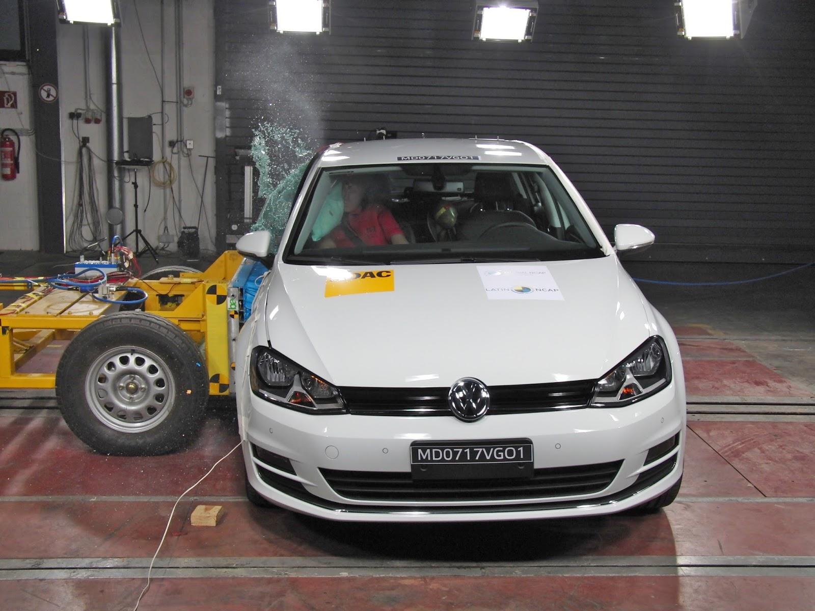 Automóveis da Volkswagen estão entre os mais seguros do Brasil, aponta Latin NCAP